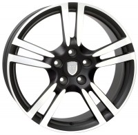 Jante SATURN Dull Black Polished 20